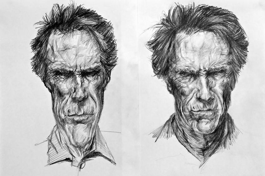 Clint Eastwood by linshyhchyang